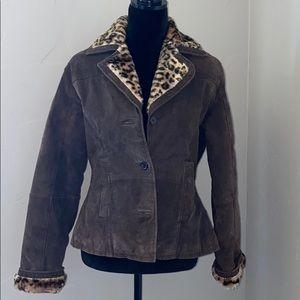 Helium Genuine Leather Jacket